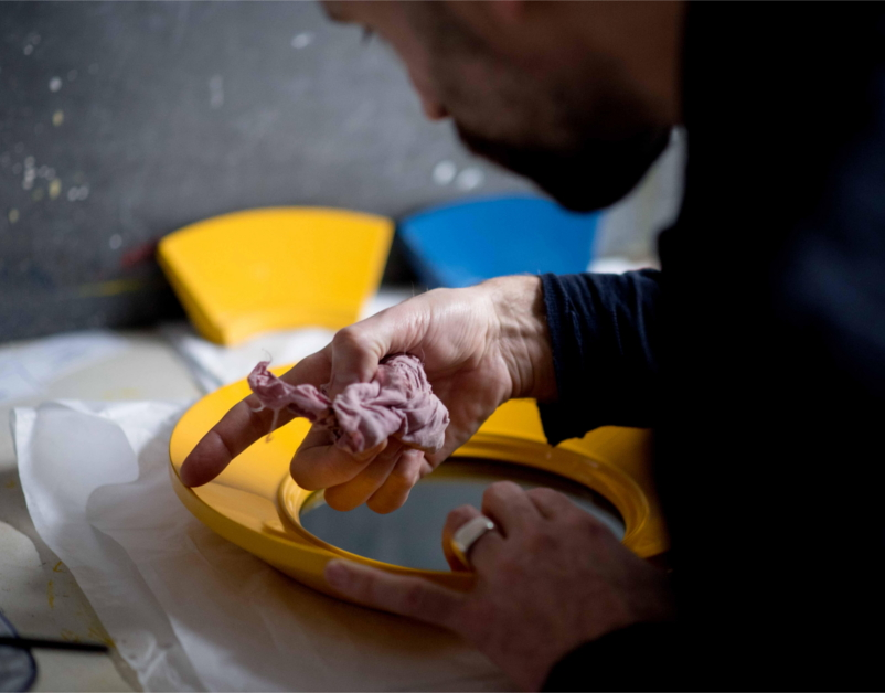Pedro da Costa Felgueiras, Paint Process, The New Craftsmen