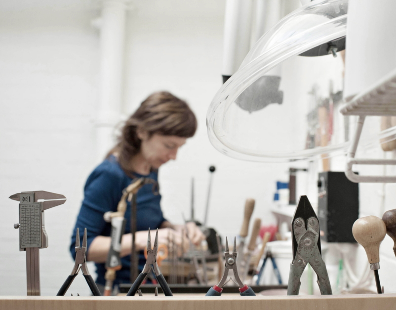 Ruth Tomilson Jewellery Process - The New Craftsmen