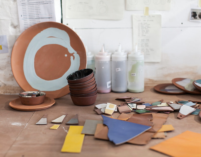 Silvia K Ceramics, Process, The New Craftsmen