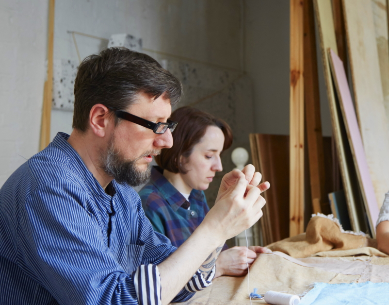 Tom of Holland Textile Process - The New Craftsmen