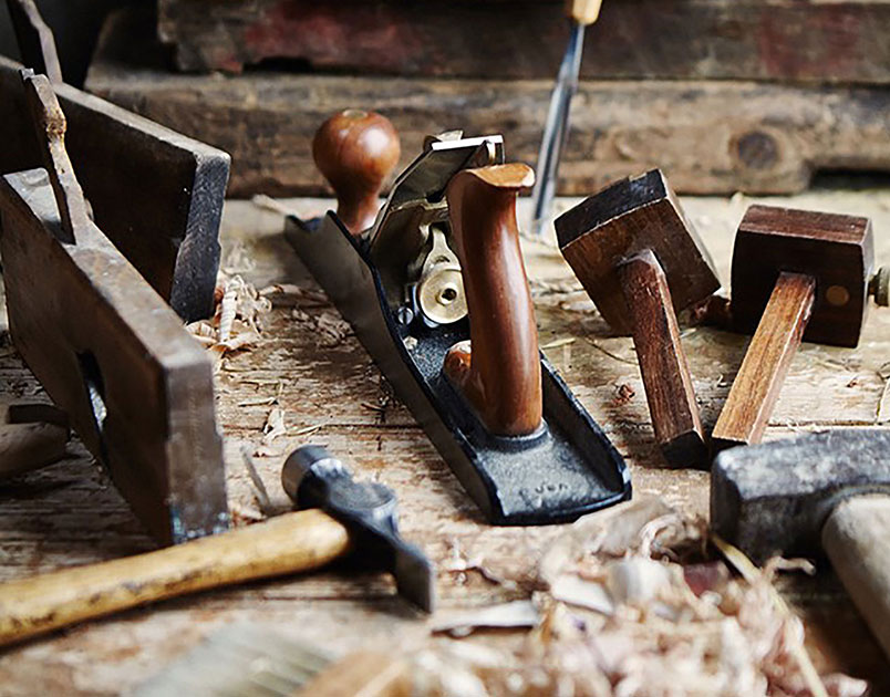 Kevin Gauld, Orkney Chair Maker- Tools, The New Craftsmen