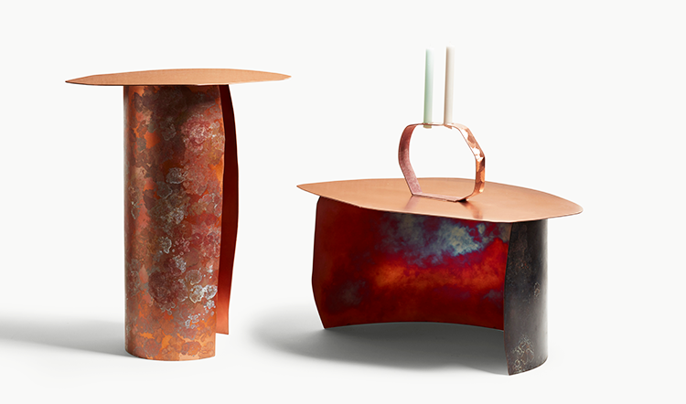 Console Table, Coffee Table and Candle Holder from Charlotte's new collection